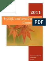 MySQL Dan Java Database Connectivity