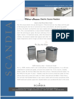 Scandia Electric Heater