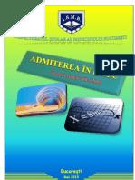 Brosura 2013 2014 Admitere Evaluare Nationala