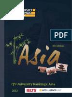 2013QS University Rankings Asia