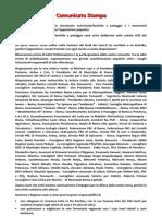 comunicato stampa 02 08 2013