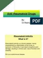 Antirhemotoid Drugs