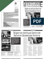Versión impresa del periódico El mexiquense  10 septiembre 2013