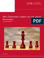 Why Charismatic Leaders Are Not Always the Answer (Non HBR)