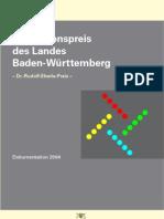 2004 - Dokumentation des Innovationspreises des Landes Baden-Württemberg 2004
