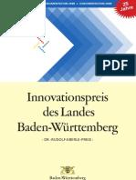2009 - Dokumentation des Innovationspreises des Landes Baden-Württemberg 2009