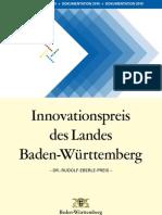 2010 - Dokumentation des Innovationspreises des Landes Baden-Württemberg 2010