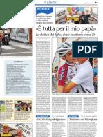Coppa d'Oro 2013 Borgo Valsugana, l'articolo de L'Adige 2
