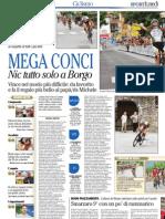 Coppa d'Oro 2013 Borgo Valsugana, l'articolo de L'Adige 1