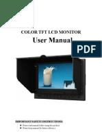 Lilliput Monitor 5D-II-P Instructions
