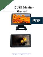 Lilliput Monitor UM1010+UM1012 Instructions