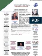 sito ufficiale della democrazia cristiana-homepage-nominaloporcaro
