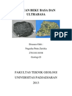 Batuan Beku Basa Dan Ultrabasa