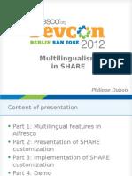 Multilingual Slides