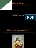 Slide on Prayer (Spiritual Growth 2009)