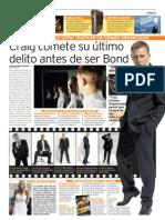 Daniel CraigArtículo sobre Daniel Craig de Luis Santa Cruz Simón