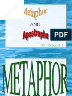 metaphor and apostrophe