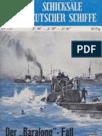 SOS-Schicksale Deutscher Schiffe (U16, U27, U41) Der Baralong-Fall, Band 129 (1957)
