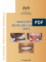 CPG Management of Severe Childhood Caries