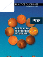 CPG Screening of Diabetic Retinopathy