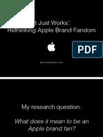 Apple Fandom Keynote (Martin Feld)
