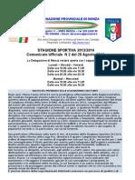 Comunicato 2 Monza