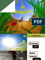 Ant Grass Hopper story