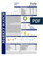 Market Watch Daily 10.09.2013