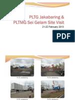 PLTG Jakabaring Site Visit 1