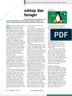 noMemilih Desktop dan Window Manager