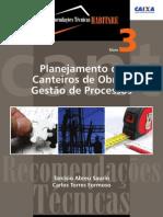 Planejamento de Canteiros de Obras e Genenciamento de Processos