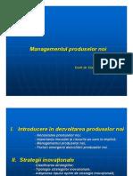 Managementul produselor noi