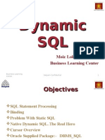 Oracle Dynamic SQL