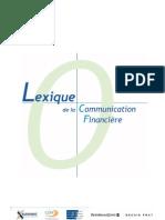 Lexique Comm Financiere 2006