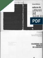 Caderno de Muros de Arrimo - Antonio Moliterno