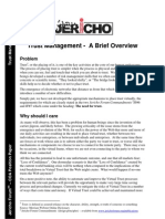 Trust Management - A Brief Overview [Whitepaper]