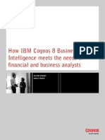 Ip c8v4 How Ibm c8bi Meets the Needs of Financial and Bus Analysts