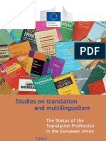 The Status of the Translation Profession