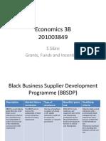 Economics 3B