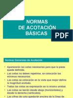 Normas Basicas de Acotacion
