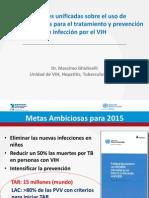 Sesion Presentacion GUIAS VIH