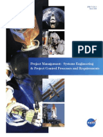 NASA Project Management System Engineering and Project Control Processes and Requierments