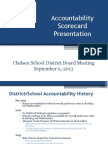 Chelsea Scoreboard Presentation