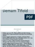 Demam Tifoid ppt