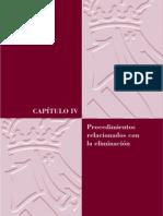 04 - Procedimientos relacionados con la eliminación
