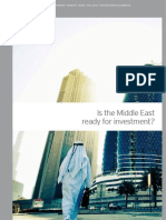 Is the Middle East Ready for Investment