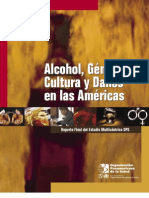 Alcohol y Genero
