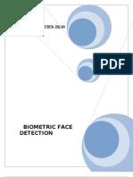 Biometric Face Detection