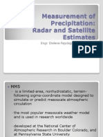 Measurement of Precipitation(Sattelite)