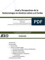 Estado Actual y Perspectivas de la Biotecnología en América Latina y el Caribe